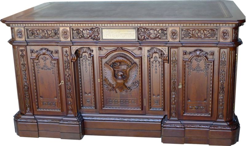 Awe Inspiring Our Reproduction Of The Presidents Resolute Desk In The Download Free Architecture Designs Itiscsunscenecom
