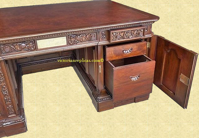 Sensational Our Reproduction Of The Presidents Resolute Desk In The Download Free Architecture Designs Itiscsunscenecom