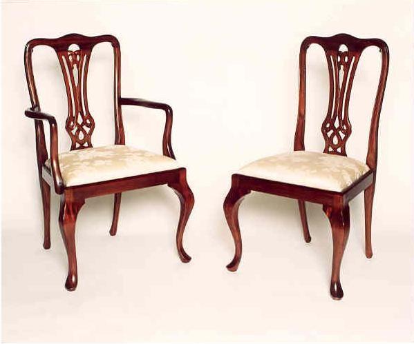 Queen Anne Blenheim Queen Anne Blenheim Dining Chairs
