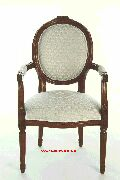 French Oval Chair